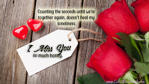 Missing You Badly Images With Quotes & Miss U Quotes For Him