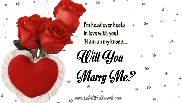 Will u marry me quotes. I Love You! Will You Marry Me?. 2019 ...