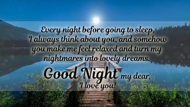 Best goodnight wishes for her & Good Night Wishes