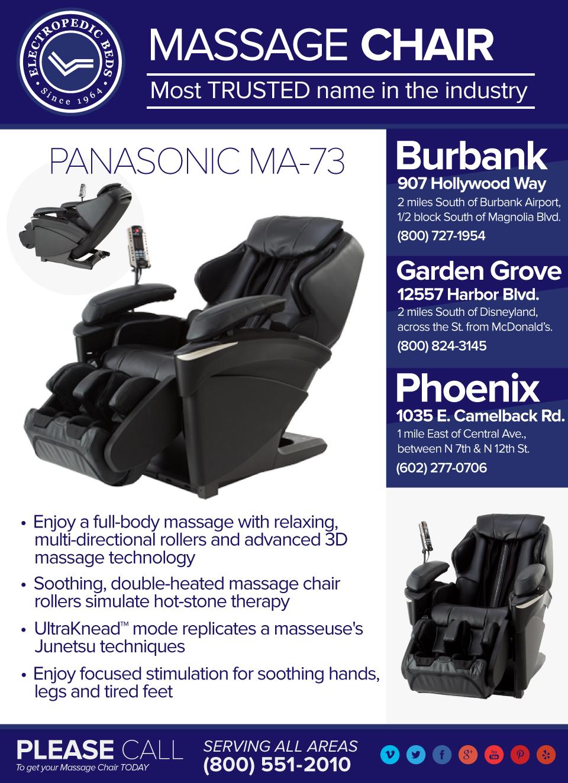 chair massage seattle box style dining cushions wa metro area with electropedic adjustable beds bariatric panasonic ma73