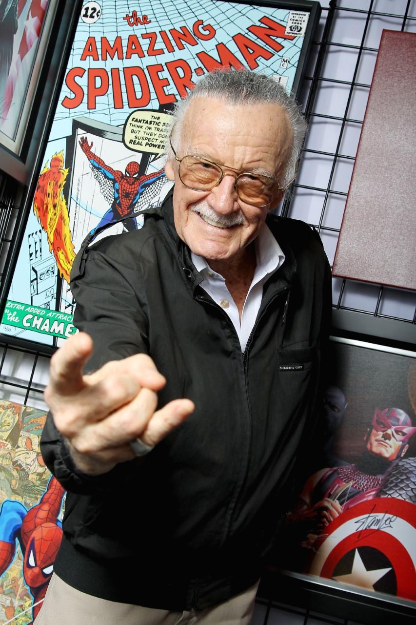 "Stan ""The Man"" Lee The Mastermind Behind Marvel Super ..."