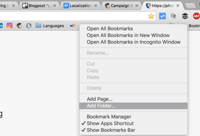Keeping Your Language Bookmarks from Collecting Digital Dust