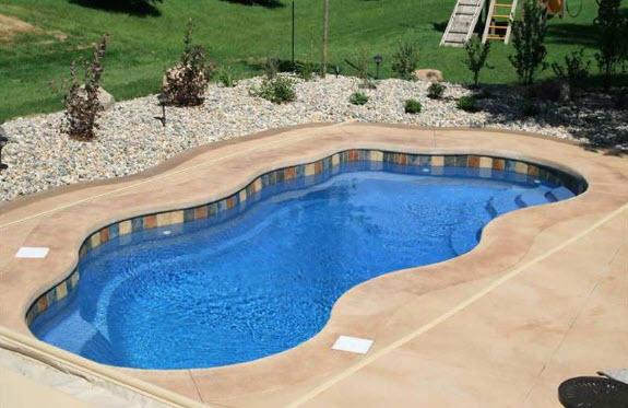 fiberglass pool tile mosaics latham