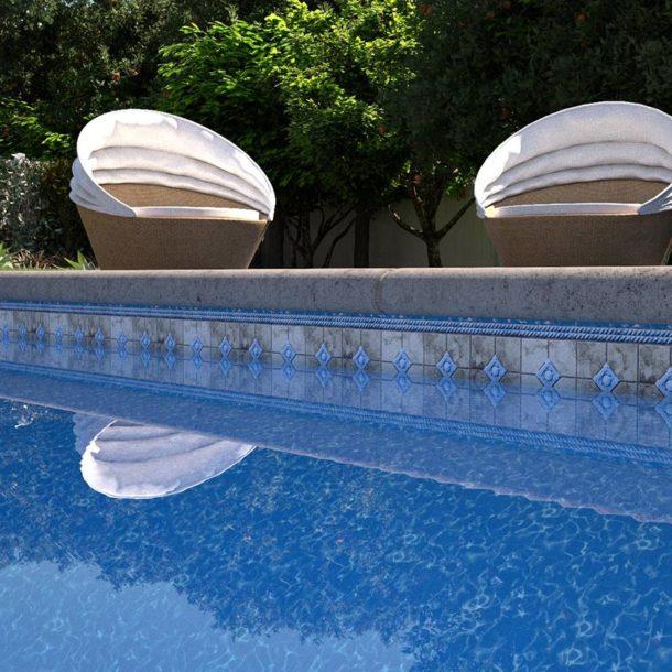 pool liner patterns latham pool