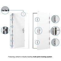 High Security Front Door | Latham's Steel Doors