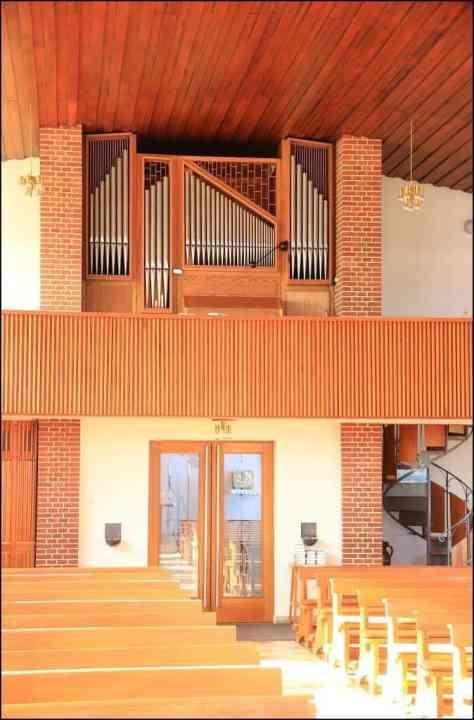 Orgel - St. Antonius Kirche Lathen-Wahn