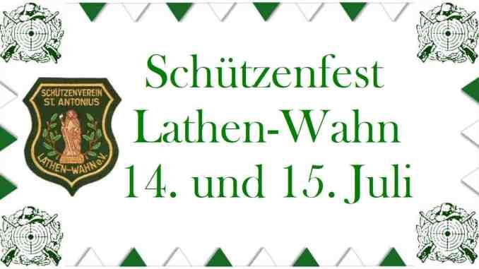 Banner Schützenfest 2018