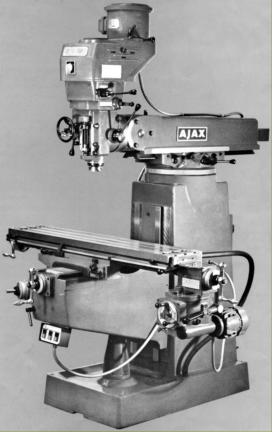 Ajax Milling Machine Manual Pdf