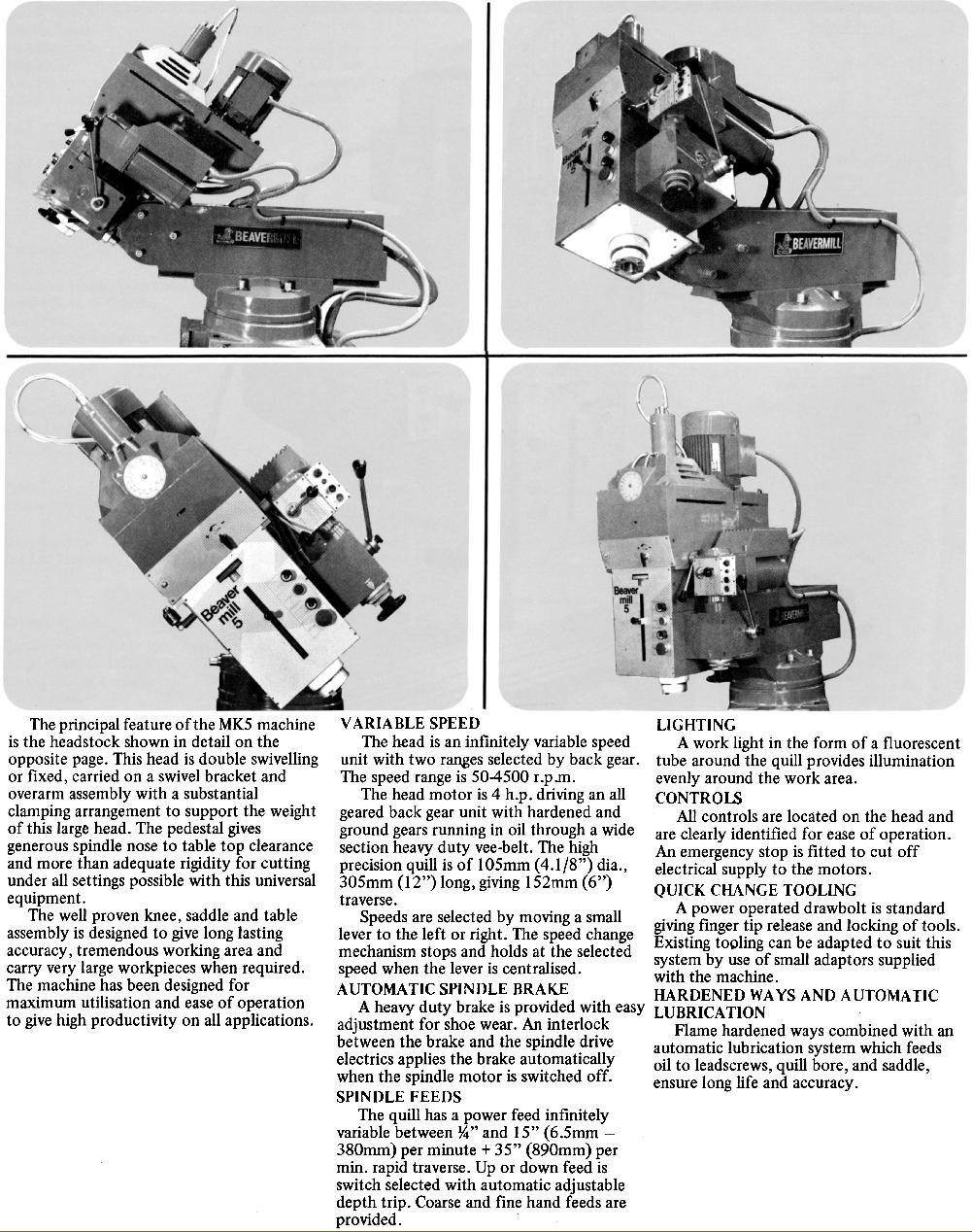 Beaver Milling Machine Manual
