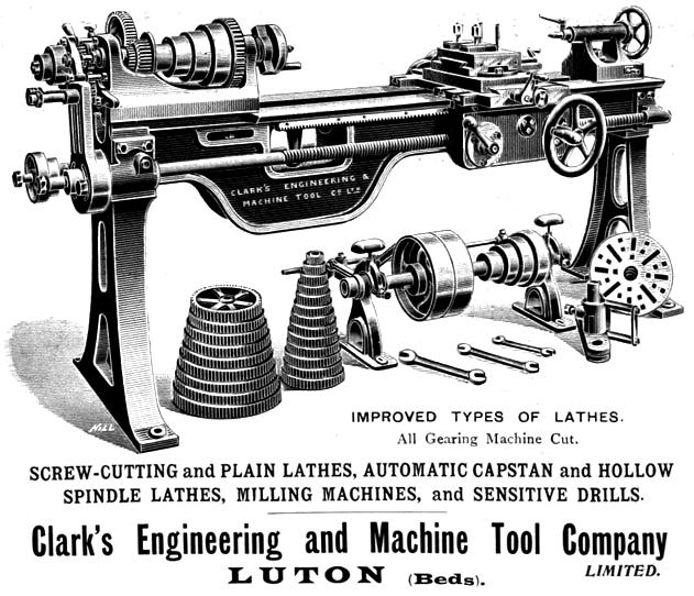 Clark's Engineering & Machine Tool Company