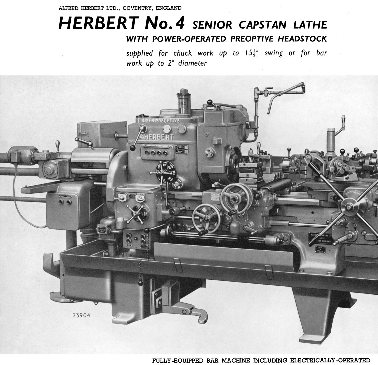 Herbert Lathe