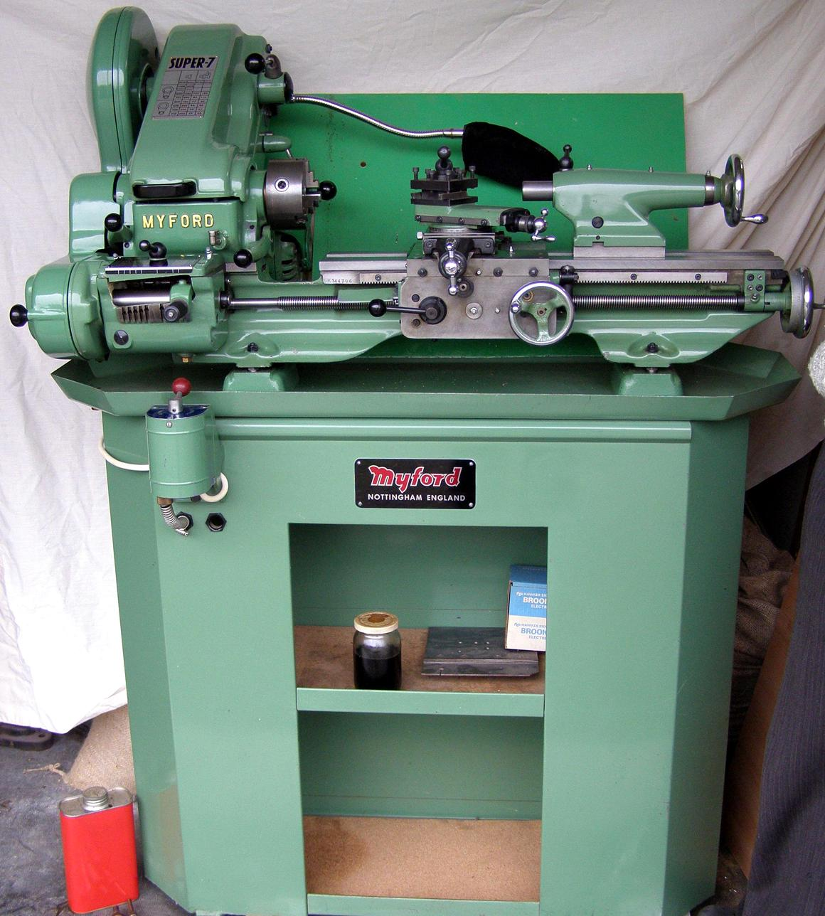 Myford Super 7 Lathe Weight