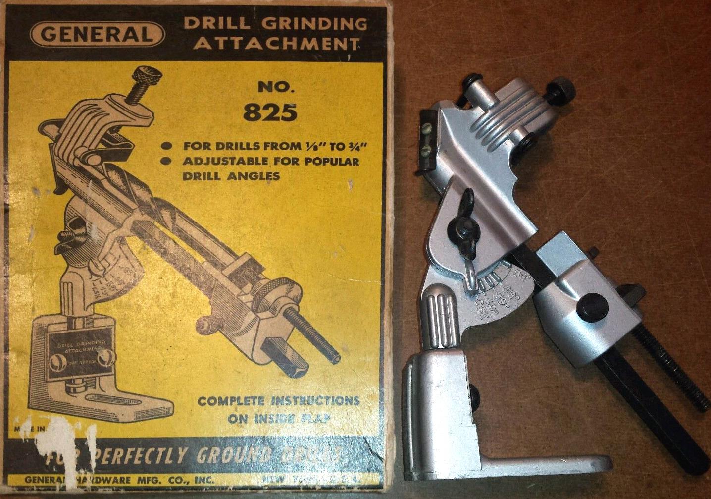 Craftsman Drill Sharpening Jig
