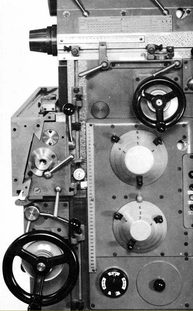 Thiel 158 Amp 158s Milling Machines