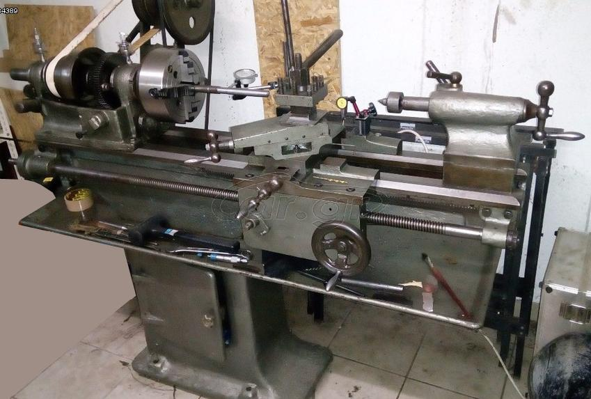Belt Driven Lathe