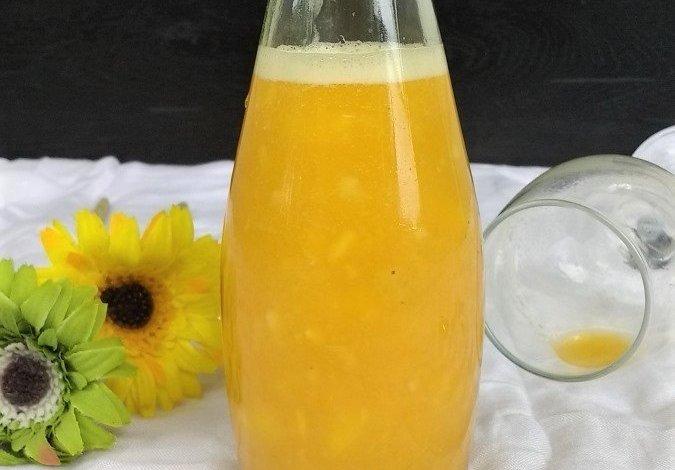 Tropical Smoothie,Vegan,Smoothie,Drinks,Mango,Coconut water