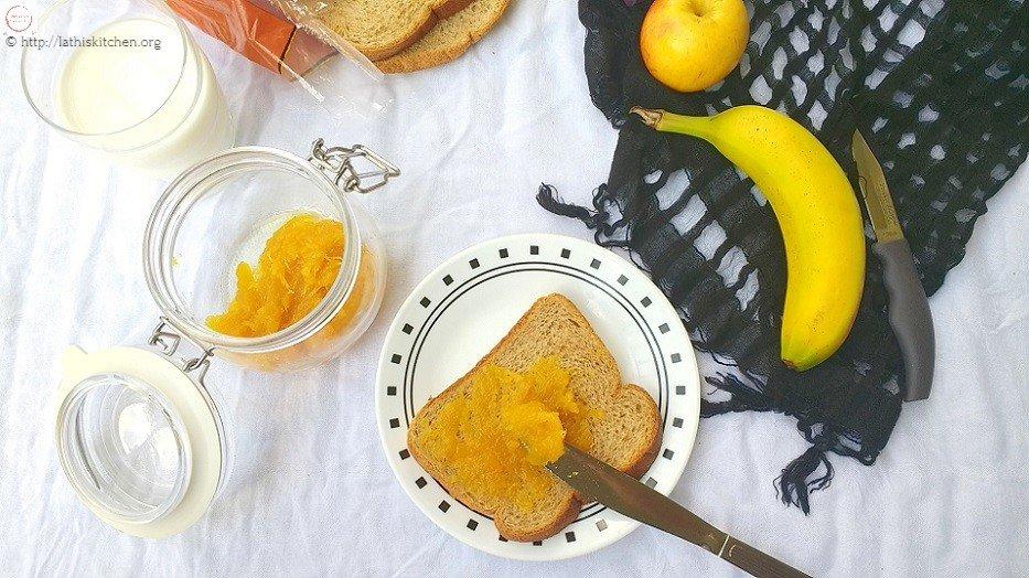 Pineapple Vanilla Jam,Jam,Homemade Jam,