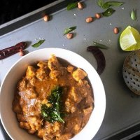 Spicy Andhra Chicken Curry