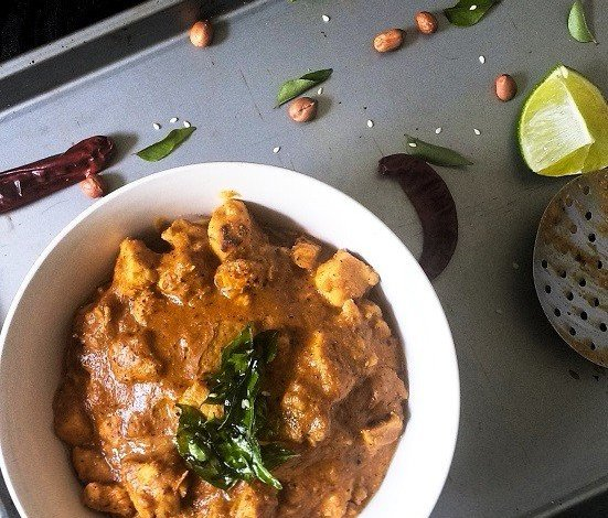 Andhra Chicken Curry,Chicken,Indian,Curry,Lunch,Dinner,Side dish