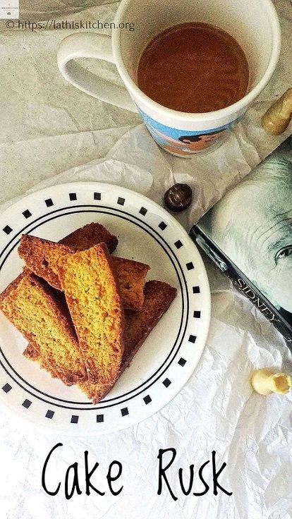 Cake Rusk,tea time snack,Kids,Baking,Eggs,