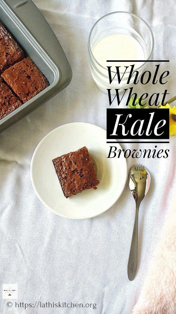 Kale Brownies.Brownies,Baking,Kale.Dessert,Kids,Snack,Eggs