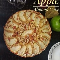 Whole Wheat Apple Almond Cake