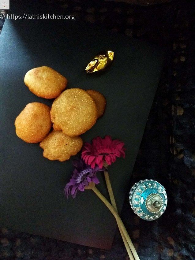 Sweet Pua Pitha,Pitha,Bengali.Indian,Snack,Frying,Whole Wheat,Vegan