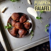 Vegan Pumpkin Falafel - Air Fry Option Included