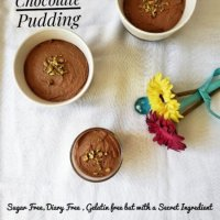 Vegan Chocolate Pudding - Sugar & Gelatin Free
