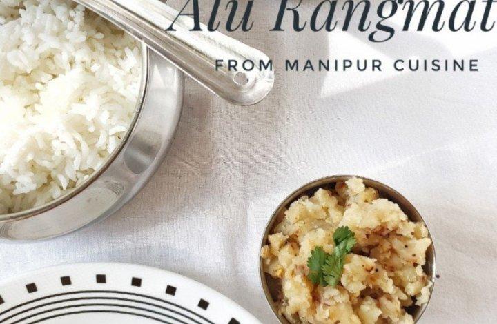 Alu Kangmet, mashed potato stir fry, vegetarian,indian,side dish,vegan,easy,under 30 minutes,lunch