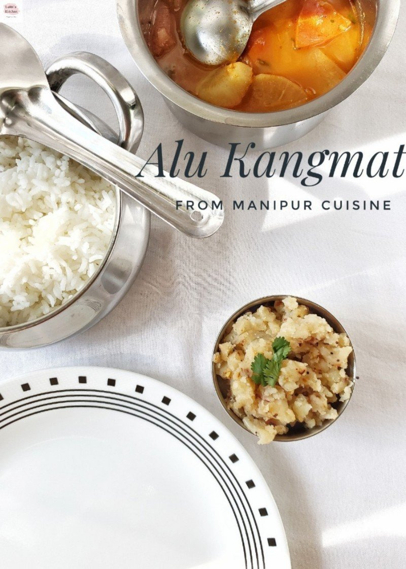 Alu Kangmet, mashed potato stir fry, vegetarian,indian,side dish,vegan,easy,under 30 minutes,lunch