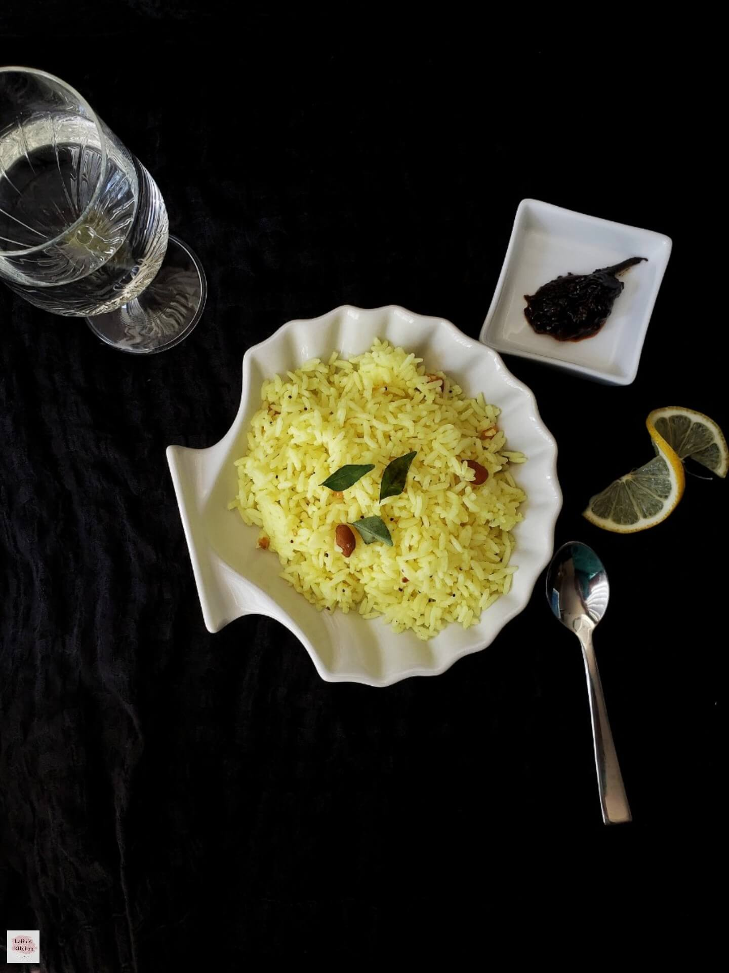 south indian lemon rice, lemon rice recipe, kids, lunch box recipe,vegetarian