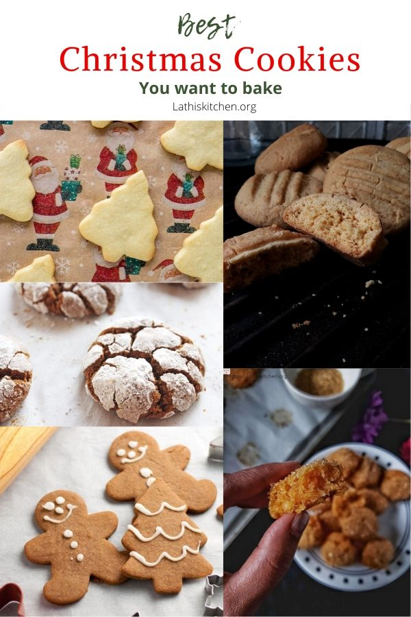 Collection of beast Christmas cookies.