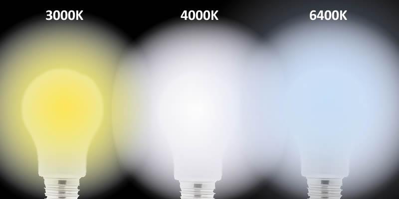 Tipo de tonalidad de luz