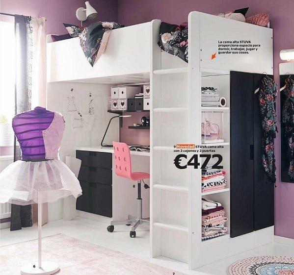 Dormitorios juveniles de IKEA catlogo 2015