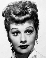 lucille ball - vintage hair & makeup