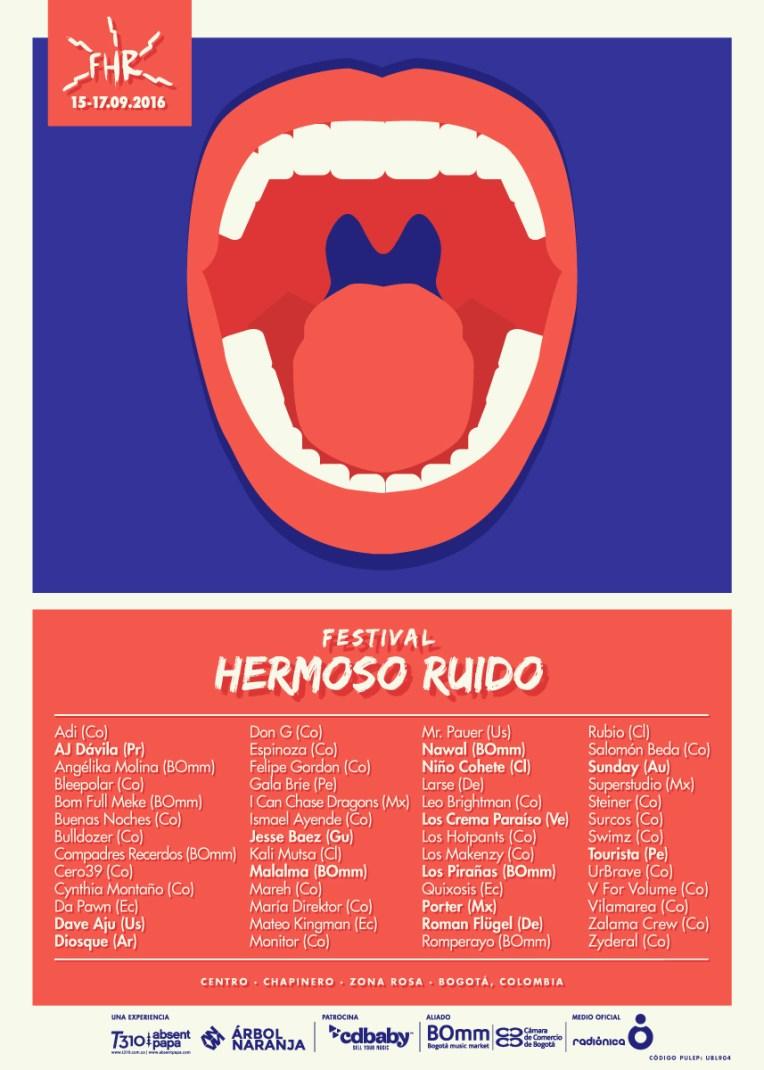 Festival Hermoso Ruido 2016