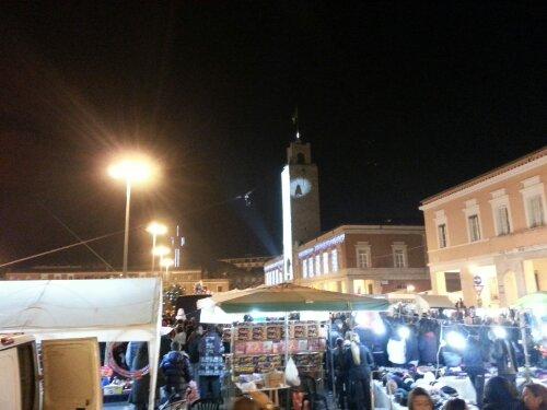 Befana piazza del Popolo Latina
