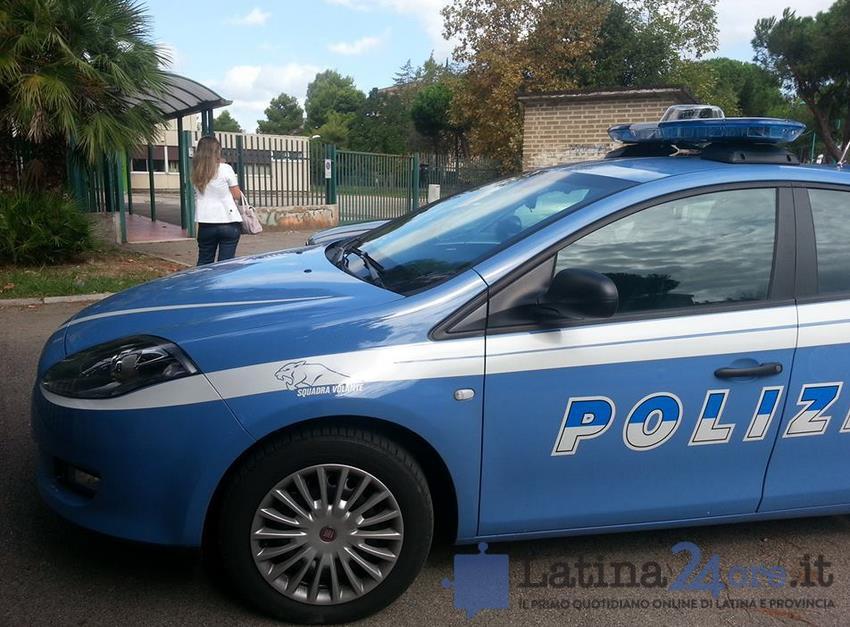 polizia-scuola-settimo-circolo-latina-24ore