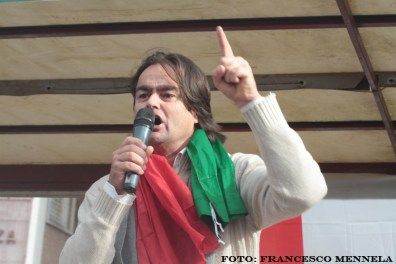 Danilo Calvani in piazza