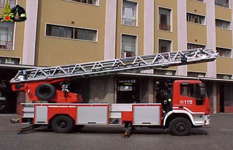autoscala vigili fuoco