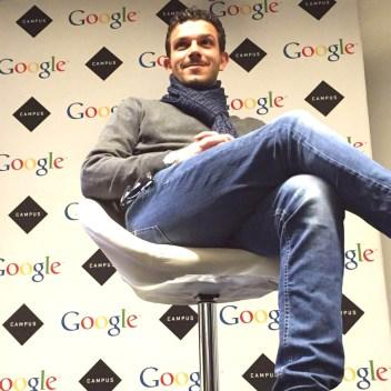 Antonio Fabrizio al London Google Campus