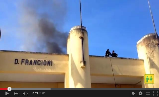 incendio-stadio-francioni-video-latina