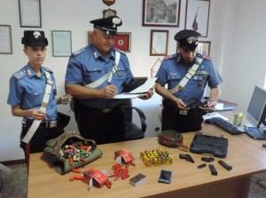 carabinieri-sequestro-munizioni