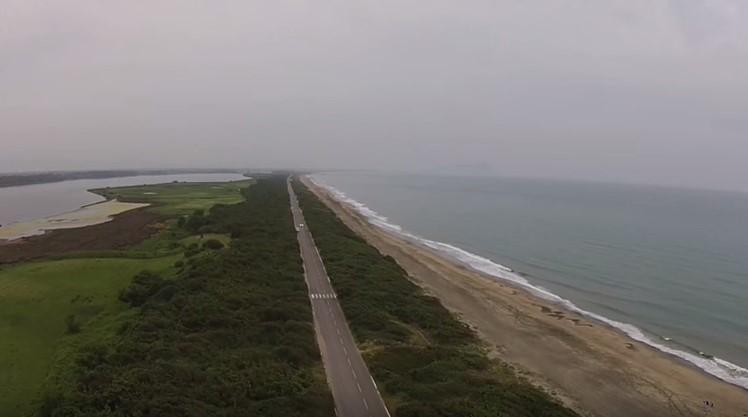 latina-mare-lago-duna-lungomare-drone-video