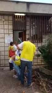 pulizia-volontari-exfarmacia-ospedale-latina