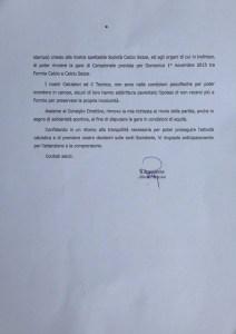 Comunicato-Formia-calcio
