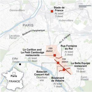 attacco-terroristi-parigi-13-11-2015-mappa