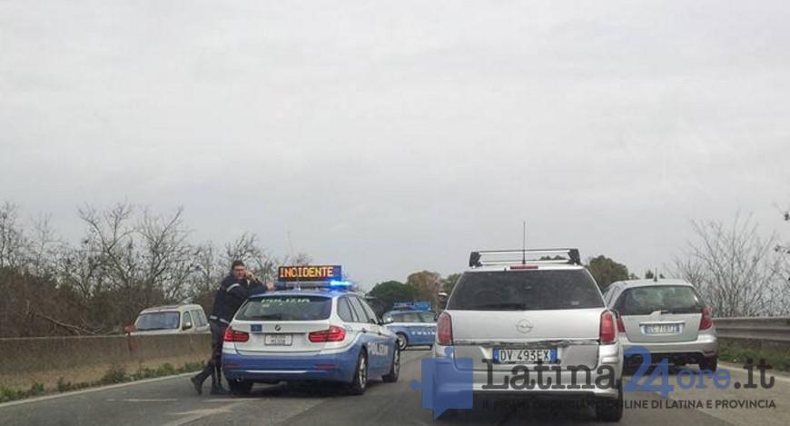 incidente-strada-pontina-latina