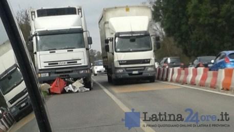 incidente-tir-guardrail-pontina-latina24ore-2